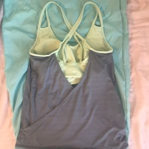 Built in padded Athleta tank